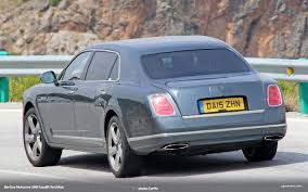old bentley mulsanne bentley mulsanne lwb facelift spied in spain vwvortex