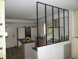 cuisine salle a manger separation cuisine americaine et salon idées de décoration