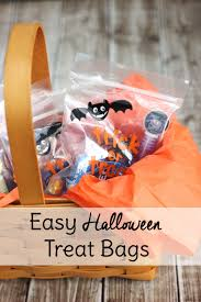 trick or treat bags easy treat bags with oreo glow in the sweet t makes