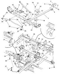 2003 dodge caravan suspension diagram dodge caravan front