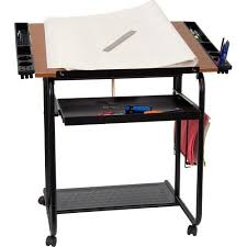Drafting Table Tools Adjustable Drawing And Drafting Table With Black Frame And Dual