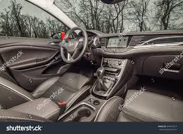 opel astra sedan 2016 interior budapest hungary november 27 2015 2016 stock photo 344749313