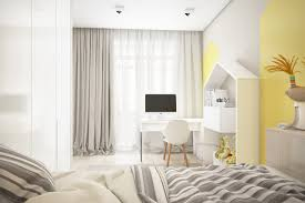 chambre bleu enfant chambre enfant jaune deau la gris modele noir idee deco chambres