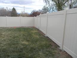 vinyl fence los alamos fence contractor