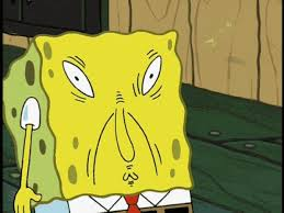 Spongebob Funny Meme - spongebob funny face blank template imgflip