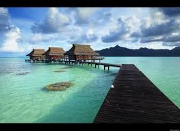 top 5 dreamiest overwater bungalows photos huffpost