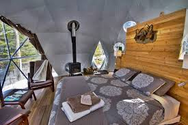 dome home interior design for tiny home enthusiasts looking