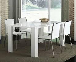 White Extending Dining Tables Italian White High Gloss Extendable Dining Table Elegance Arizona