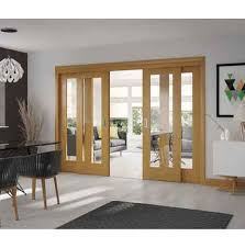 easi slide oak frame for sliding french doors frame only