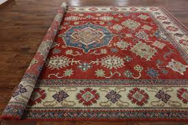 Area Rugs 10 X 14 by Adina Collection Oriental 10x14 Red Super Kazak Hand Knotted Wool