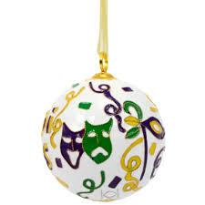 cloisonne ornament mardi gras symbols mardigrasoutlet