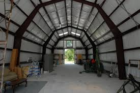 Gambrel Roof Barn Gambrel Barn With Steel Sliding Doors In Fort Pierce Fl