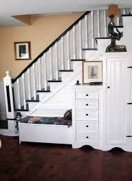 Staircase Decorating Ideas Wall Go Creative Ideas For Under Stairs Storage