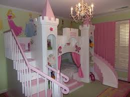 Bedroom Furniture For Little Girls by New Custom Princess Bella 2 Castle Bed Loft Bunk Dream Castle