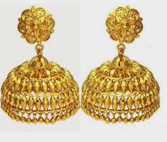 gold jhumka earrings design 50 jhumka earrings designs free hd wallpapers new gold