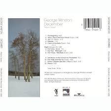 december piano solos george winston mp3 buy tracklist