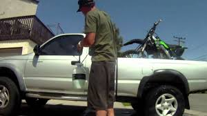 motocross bike carrier cleaning truck and motocross bike using slick offroad wash youtube