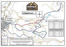 Marathon Florida Map by Leadville Trail Marathon And Heavy Half Course Map U2013 Blueprint For