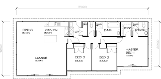 3 bedroom house plans floor plan for a small house 1150 sf with 3