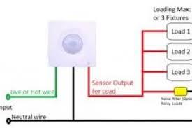 wiring motion sensors diagram dimensions wiring diagram