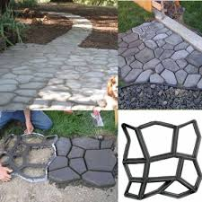 Concrete Garden Furniture Molds by Diy Garden Walk Maker Driveway Paving Brick Patio Mold Concrete
