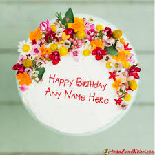 happy birthday cake for boyfriend with name