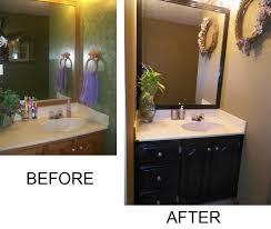how to repaint bathroom cabinets painting bathroom cabinets black spray paint www islandbjj us