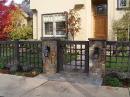 best 25 front yard fence ideas on front yard fence