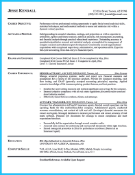 Actuary Resume Sample by Excellent Ways To Make Great Bartender Resume Template
