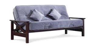 Futon Frame And Mattress Baxter Futon Frame With Innerspring Futon Mattress Hom Furniture