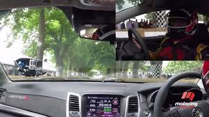 driving goodwood in the hsv gtsr motoring com au