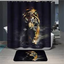 White Tiger Shower Curtain Compare Prices On Tigers Shower Curtain Online Shopping Buy Low