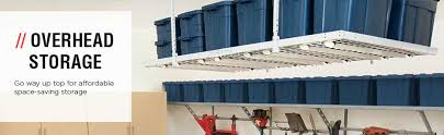 Garage Ceiling Storage Systems by Overhead Garage Storage Systems Garage Ceiling Storage