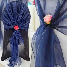 navy blue chair sashes blue wedding chair sashes modern chairs design