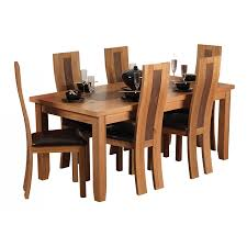 High Back Brown Leather Dining Chairs Stunning Modern Wooden Dining Tables Give A Perfect Look In Your