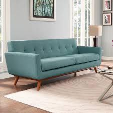 Living Room Blue Sofa by Modern Sofas Empire Light Blue Sofa Eurway Modern