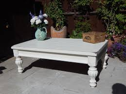 large shabby chic french country coffee table sold