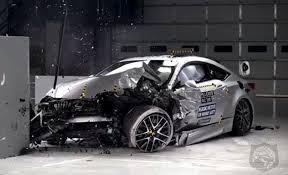 lexus tests 2015 lexus rc outclasses the germans in iihs crash tests