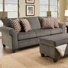 Transitional Sofas Furniture Simmons Upholstery 1647 Transitional Sofa With Rolled Arms Dunk