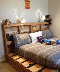 Pallet Bed Frame Plans 26 Highly Ingenious Cost Efficient Pallet Diy Projects For Kids