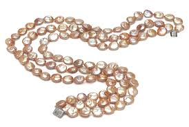 freshwater pearls necklace images 11mm coin freshwater pearl necklace american pearl jpg