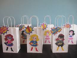 party city halloween treat bags superhero favor bags 10 superhero goody bags superhero