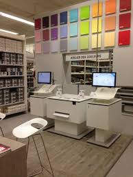 leroy merlin le bureau digital of paint for the retail in store customer experience