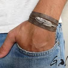make men bracelet images Men 39 s bracelet men 39 s feather bracelet men 39 s leather bracelet jpg