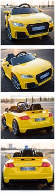 audi tt electric licensed audi tt rs electric wheel car with remote 6v