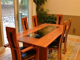 dining room table imported solid cherry wood dining room