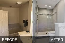 Bathroom Remodels Before And After Charles U0026 Cindy U0027s Master Bathroom Before U0026 After Pictures Home