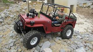 willys jeep offroad willys jeep scale trial 1 6 youtube