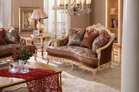 canapé royal royal en bois massif canapé pour villa salon canapé meubles dans