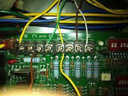 i cannot seem to wire my modulating rheem hc tst412mdms thermostat